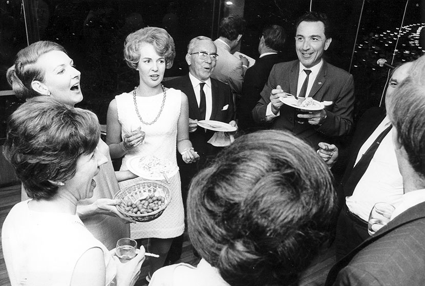 1968. Australian Book Review - Transfield Book Production Award Refreshments.