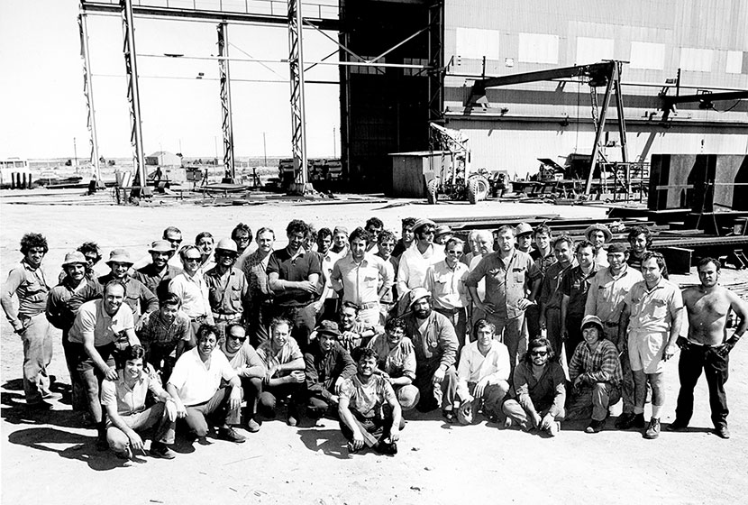 The Transfield workers of the Whyalla plant, South Australia.